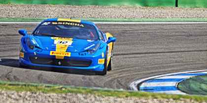 2013. Team Ukraine racing with Ferrari, Хоккенхайм, фото 3