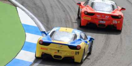 2013. Team Ukraine racing with Ferrari, Хоккенхайм, фото 7