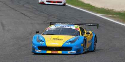 2013. Team Ukraine racing with Ferrari, Валлелунга